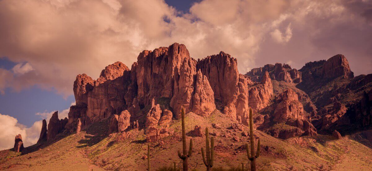 Glamping in the Superstition Mountains