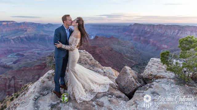 best destination weddings locations - Grand Canyon Wedding