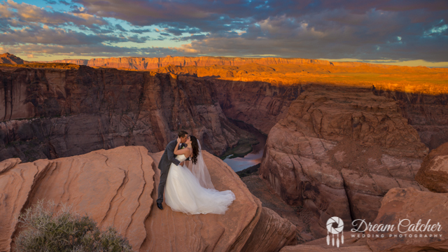 best destination weddings locations - Horseshoe Bend Wedding